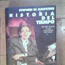 Libros de segunda mano de Ciencias: STEPHEN W. HAWKING - HISTORIA DEL TIEMPO - DEL BIG BANG A LOS AGUJEROS NEGROS - CIRCULO DE LECTORES. Lote 32790665