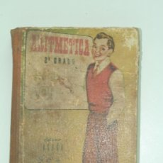 Libros de segunda mano de Ciencias: ARITMETICA GRADO MEDIO. 1952. BOOK ARITHMETIC AVERAGE. Lote 32858280