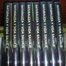 Libros de segunda mano: NATURALEZA Y VIDA SALVAJE 8 TOMOS FÉLIX RODRÍGUEZ DE LA FUENTE RM58533. Lote 33423265