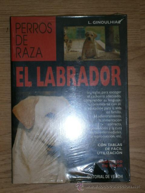 EL LABRADOR POR LUISA GINOULHIAC DE ED. DE VECCHI EN BARCELONA 2000 (Libros de Segunda Mano - Ciencias, Manuales y Oficios - Biología y Botánica)