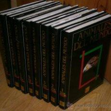 Libros de segunda mano: ANIMALES DEL MUNDO 8T POR HERWART STEHR DE ED. PLAZA JANÉS EN BARCELONA 1990. Lote 33100471