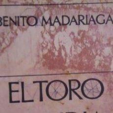 Libros de segunda mano: EL TORO DE LIDIA (MADRID, 1966) DEDICADO POR EL AUTOR. Lote 33220789