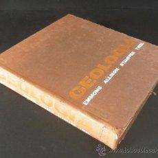 Libros de segunda mano: 1963 * LIBRO DE GEOLOGÍA PRINCIPIOS Y PROCESOS DE EMMONS ALLISON * EDICIONES CASTILLO. Lote 33305559