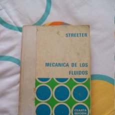Libros de segunda mano de Ciencias: LIBRO: MECÁNICA DE LOS FLUÍDOS (MCGRAW-HILL, 1971). Lote 33492014