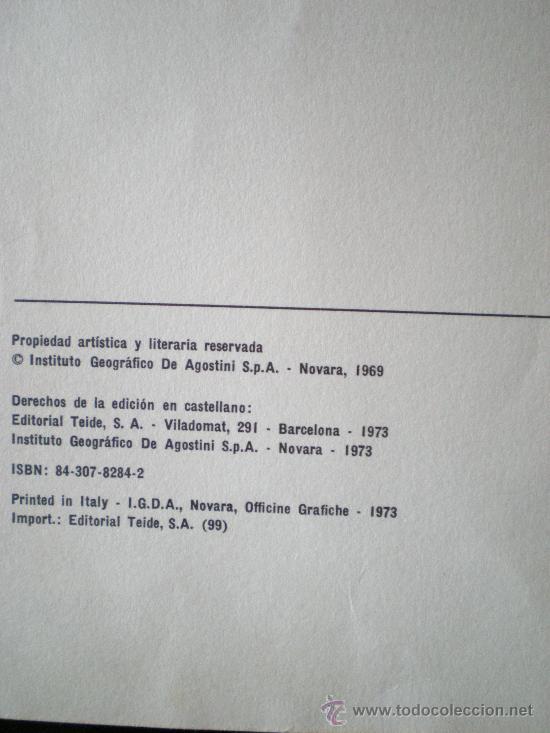Libros de segunda mano: peces de acuario editorial teide s.a.barcelona instituto geografico de agostini de 64 paginas ilustr - Foto 2 - 33523562