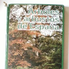 Libros de segunda mano: LIBRO ARBOLES Y ARBUSTOS DE ESPAÑA SALVAT 227 PAGINAS AÑO 1981. Lote 33524293