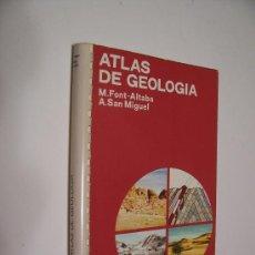Libros de segunda mano: ATLAS DE GEOLOGÍA - EDICIONES JOVER 1973 / ILUSTRADO. Lote 33650560