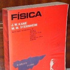 Libros de segunda mano de Ciencias: FÍSICA POR KANE Y STERNHEIM DE ED. REVERTÉ EN BARCELONA 1982. Lote 34032394