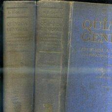 Libros de segunda mano de Ciencias: CALVET : QUÍMICA GENERAL APLICADA A LA INDUSTRIA - QUÍMICA DEL CARBONO - DOS TOMOS (SALVAT, 1944). Lote 84672847