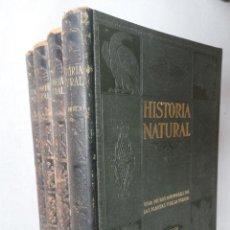 Libros de segunda mano: HISTORIA NATURAL - VIDA DE LOS ANIMALES, DE LAS PLANTAS Y DE LA TIERRA - 4 TOMOS. Lote 34169250