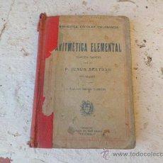 Libros de segunda mano de Ciencias - Libro aritmetica elemental tercer grado L-2541 - 34918774