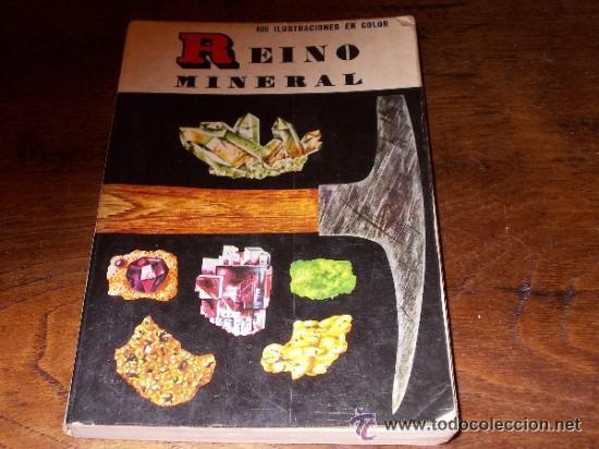 REINO MINERAL EDITORIAL DAIMON CON 400 ILUSTRACIONES EN COLOR (Libros de Segunda Mano - Ciencias, Manuales y Oficios - Paleontología y Geología)