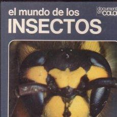 Libros de segunda mano - EL MUNDO DE LOS INSECTOS, DOCUMENTAL EN COLOR -edita - TEIDE 1973 - 35307954