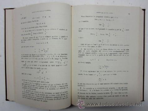 Libros de segunda mano de Ciencias: CURSO DE MATEMATICAS - PARA ESTUDIANTES DE FISICA QUIMICA E INGENIERIA - TOMO I - Foto 3 - 35735048