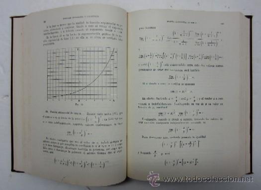 Libros de segunda mano de Ciencias: CURSO DE MATEMATICAS - PARA ESTUDIANTES DE FISICA QUIMICA E INGENIERIA - TOMO I - Foto 4 - 35735048