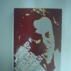 Libros de segunda mano de Ciencias: RICHARD P. FEYNMAN: ESTÁ USTED DE BROMA, SR. FEYNMAN?. Lote 156948378