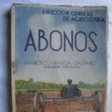 Libros de segunda mano - ABONOS. URANGA GALDIANO, Francisco - 35862604