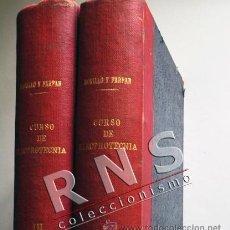 Libros de segunda mano de Ciencias: CURSO DE ELECTROTECNIA TOMO I III - JOSÉ MORILLO Y FARFÁN - ELECTRICIDAD CIENCIAS LIBRO ILUSTRAD. Lote 36259448