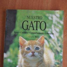 Libros de segunda mano: NUESTRO GATO - USCHI BIRR. Lote 36331759