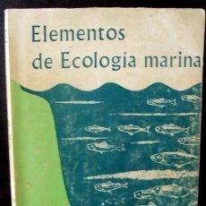 Libros de segunda mano: ELEMENTOS DE ECOLOGIA MARINA, R. V. TAIT, EDITORIAL ACRIBIA. Lote 36573584