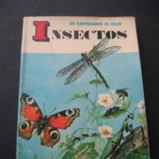Libros de segunda mano: LIBRO GUIA INSECTOS. EDICIONES DAIMON 1969.. Lote 36896432