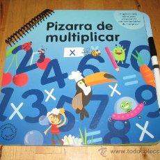 Libros de segunda mano de Ciencias: LIBRO PIZARRA PARA MULTIPLICAR CÍRCULO DE LECTORES IMAGINARIUM EDUCACIÓN INFANTIL PRIMARIA. Lote 37118180