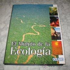 Libros de segunda mano: LIBRO ENCICLOPEDIA EL MUNDO DE LA ECOLOGÍA OCEANO TIERRA NATURALEZA ANIMALES ENTORNO. Lote 37217630