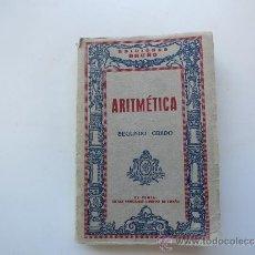 Libros de segunda mano de Ciencias: ARITMETRICA SEGUNDO GRADO EDICIONES BRUÑO CON SISTEMA METRICO. Lote 37513245