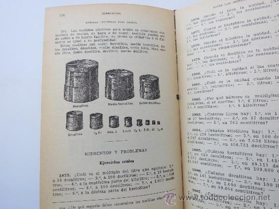 Libros de segunda mano de Ciencias: Aritmetrica segundo grado ediciones Bruño con sistema metrico - Foto 3 - 37513245