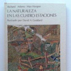 Livres d'occasion: LA NATURALEZA EN LAS CUATRO ESTACIONES - ILUSTRADO POR DAVID A. GODDARD - EDITORIAL TEIDE. Lote 37680895
