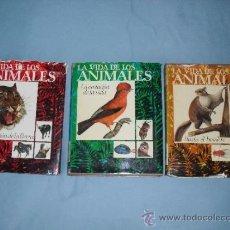 Libros de segunda mano: LA VIDA DE LOS ANIMALES - TOMOS I, II, III - EDITORIAL PLANETA 1975 (COMPLETA). Lote 37709971