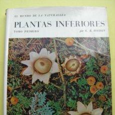 Libri di seconda mano: PLANTAS INFERIORES. TOMO PRIMERO. 1968. Lote 37829284