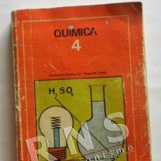 Libros de segunda mano de Ciencias: QUÍMICA 4 FP 2ª GRADO - EDEBÉ - LIBRO DE TEXTO - CIENCIAS - FORMACIÓN PROFESIONAL F P - AÑOS 80. Lote 38399601