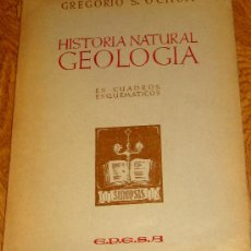 Libros de segunda mano: HISTORIA NATURAL GEOLOGÍA GREGORIO S. OCHOA EPESA CIRCA 1970. Lote 38508180