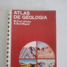 Libros de segunda mano: ATLAS DE GEOLOGÍA. Lote 38532499