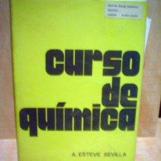 Libros de segunda mano de Ciencias: CURSO DE QUIMICA.. Lote 38584452