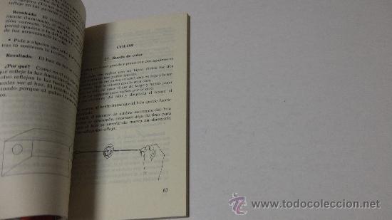 Libros de segunda mano de Ciencias: JUEGOS DE FÍSICA- JANICE P. VANCLEAVE- LABOR BOLSILLO JUVENIL - Foto 3 - 194246175