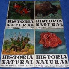 Libros de segunda mano: HISTORIA NATURAL - OBRA COMPLETA CUATROS TOMOS - INSTITUTO GALLACH (1960). Lote 38616674