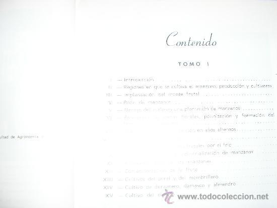 Libros de segunda mano: FRUTICULTURA MODERNA (TOMO 1), por Norman Childers - Edit. Hemisferio Sur - URUGUAY - RARO! - Foto 3 - 38705347