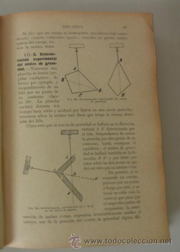 Libros de segunda mano de Ciencias: FISICA GENERAL APLICADA POR FRANCISCO F. SINTES. EDITORIAL RAMÓN SOPENA * BARCELONA 1939 - Foto 6 - 38891816
