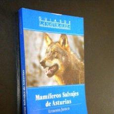 Libros de segunda mano: MAMIFEROS SALVAJES DE ASTURIAS / ERNESTO JUNCO. Lote 39519849