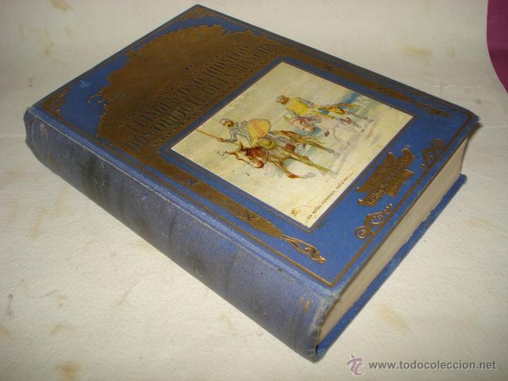Libros de segunda mano de Ciencias: EL INGENIOSO HIDALGO DON QUIJOTE DE LA MANCHA Biblioteca Hispania Edit. Ramón Sopena 1954 - Foto 5 - 39625416
