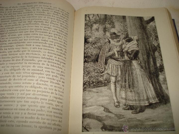 Libros de segunda mano de Ciencias: EL INGENIOSO HIDALGO DON QUIJOTE DE LA MANCHA Biblioteca Hispania Edit. Ramón Sopena 1954 - Foto 7 - 39625416