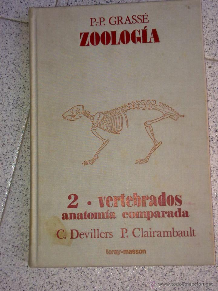 zoología 2 - vertebrados - anatomía comparada p - Comprar Libros de ...