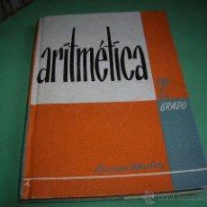 Libros de segunda mano de Ciencias: LIBRO ARITMÉTICA 2º GRADO,EDICIONES BRUÑO. Lote 39816107