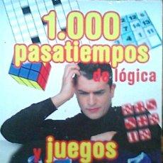 Libros de segunda mano de Ciencias: LIBRO 1000 PASATIEMPOS DE LOGICA Y UEGOS DE INTELIGENCIA - ED. SERVILIBRO. Lote 181392997