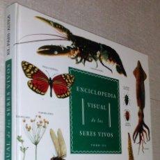 Libros de segunda mano: GRAN FORMATO - ENCICLOPEDIA VISUAL DE LOS SERES VIVOS TOMO III- ESPLÉNDIDAS ILUSTRACIONES. Lote 39852637