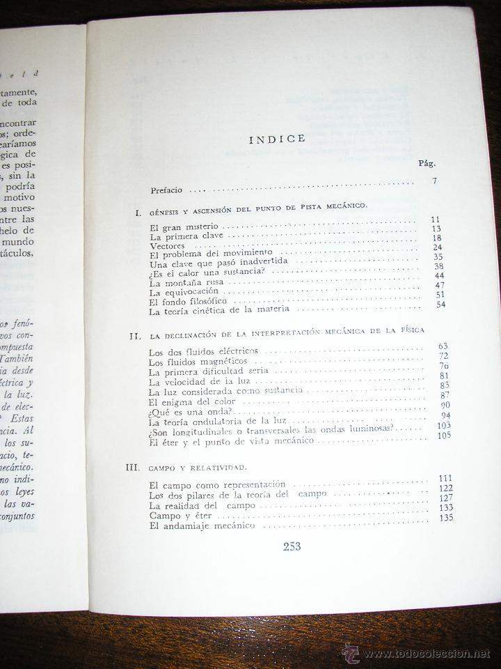Libros de segunda mano de Ciencias: LA FISICA, AVENTURA DEL PENSAMIENTO, por Albert Einstein y Leopold Infield - LOSADA - 1977 - Foto 2 - 39868060
