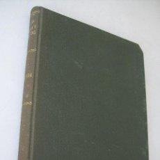 Libros de segunda mano: GEOLOGÍA-RAFAEL YBARRA MÉNDEZ-ÁNGEL CABETAS LOSHUERTOS-1939-ARTES GRÁFICAS E. BERDEJO CASAÑAL. Lote 39929172