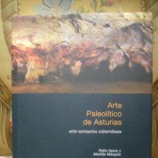 Libros de segunda mano: ARTE PALEOLITICO DE ASTURIAS, OCHO SANTUARIOS SUBTERRANEOS, DE PEDRO SAURA Y MATILDE MUZQUIZ.. Lote 39927572